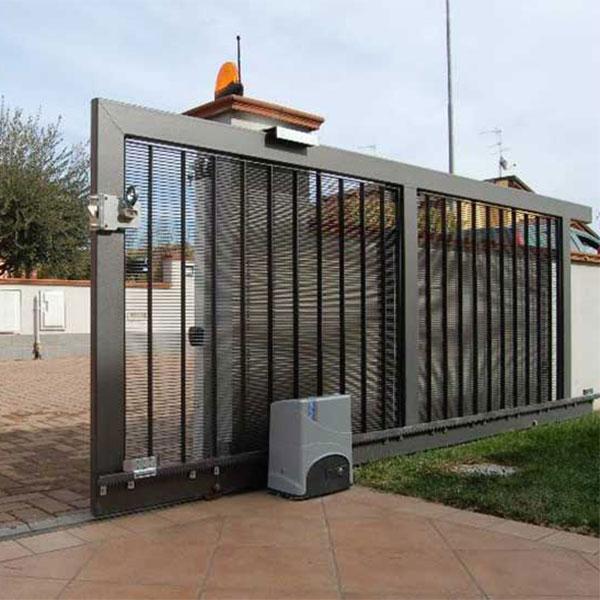 فروش و نصب درب اتوماتیک ریلی و لنگه ای ، مهندسی نور آذین ، آقای کامروا